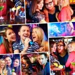 In karaoke bar — Stock Photo #32878659
