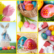 easter symbols — Stock Photo