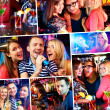 Stock Photo: In karaoke bar