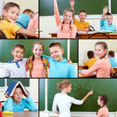 At school — Stock Photo