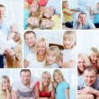 Family at home — Stock Photo #32883907