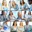 Stock Photo: Successful business people