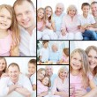 Big family — Stock Photo