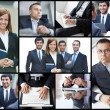 Successful businesspeople — Stock Photo #32884617