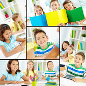 Youthful learners — Stock Photo
