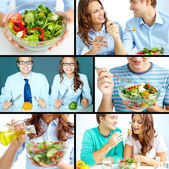 Vegetarians — Stock Photo