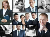 Smart businesspeople — Stock Photo