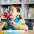 Eating apple — Stock Photo #32894691