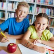 happy schoolkids — Stock Photo #32894775