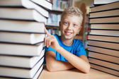 Jag älskar böcker — Stockfoto