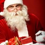 Kind Santa — Stock Photo #32903687