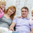 Family at home — Stock Photo #32902011