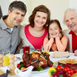 Stock Photo: Thanksgiving dinner