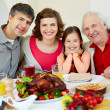 Thanksgiving dinner — Stock Photo #32902119
