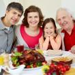 Thanksgiving dinner — Stock Photo