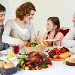 Family celebration — Stock Photo