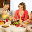 Traditional Thanksgiving dinner — Stock Photo
