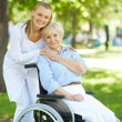 Taking care of patient — Stock Photo