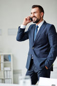 Business call — Stock Photo