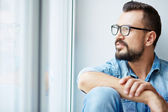 Pensive man — Stock Photo