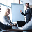 Business people interacting at seminar — Stock Photo #35269015