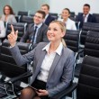 Smart businesswoman — Stock Photo