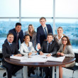 Partners at workplace — Stock Photo