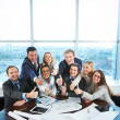 Stock Photo: Happy co-workers