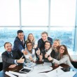 Happy co-workers — Stock Photo