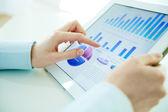 Hi-tech analysis — Stock Photo