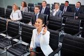 Bevoegde zakenvrouw — Stockfoto