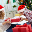 Sharing gift — Stock Photo