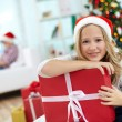 Christmas girl — Foto Stock