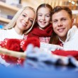 Family of shoppers — Stock Photo #35270975