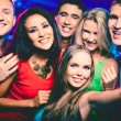 Group of friends at party  — Stockfoto