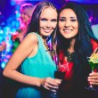 Girls at party — Stock Photo
