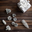 Stock Photo: Christmas symbols