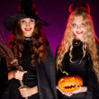 Halloween witches — Stock Photo #35273061
