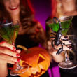 Halloween toast — Stock Photo