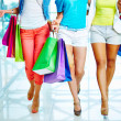 Shopping walk — Stock Photo