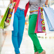 Glamorous shoppers — Stock Photo
