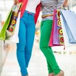 Glamorous shoppers — Stock Photo