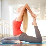 Stretching exercise — Stock Photo