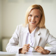 Businesswoman at workplace — Stock Photo #35275845