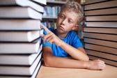 Ik hou van boeken — Stockfoto