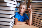 Successful pupil — Foto Stock