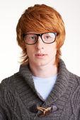 Guy in eyeglasses — Stock Photo