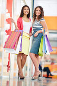 Lovely shoppers — Stock Photo