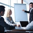Business people interacting at seminar — Stock Photo #36816333