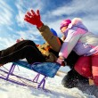 Winter recreation — Foto de Stock